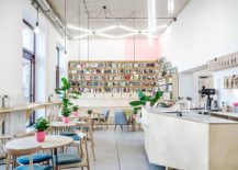 Old Milk Bar In Poznan Transforms Into Trendy Coffee House and Bookstore