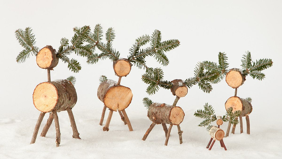 Smart Christmas DIY reindeers look super-cute