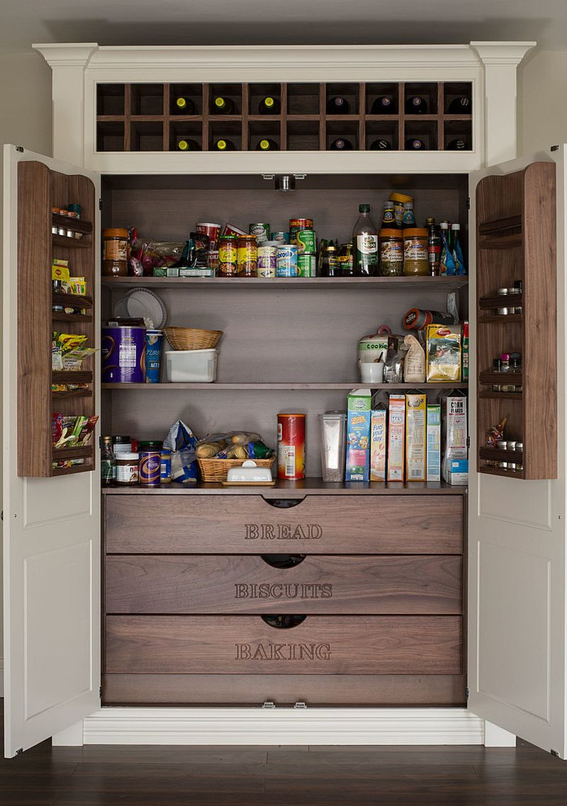 Smart pantry makes organizing super-easy in the kitchen