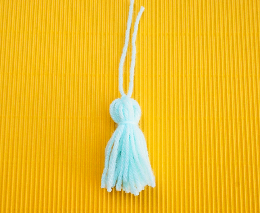 Trim your tassel