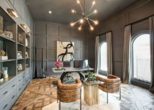 A-touch-of-glam-for-the-double-height-home-office-with-ample-shelving-space-217x155