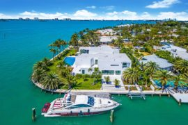 Breathtaking $8.5 Million Waterfront Home in Miami Exudes World-Class Luxury