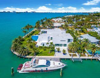Breathtaking $8.5 Million Waterfront Home in Miami Exudes World-Class Luxury
