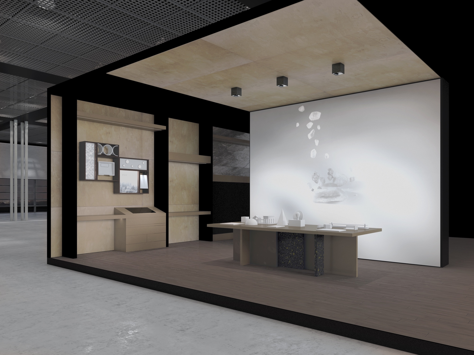 Atelier KRION® Material Experience Porcelanosa