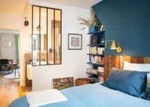 Bluish-gray-is-a-trendy-color-to-choose-for-the-accent-wall-in-the-bedroom-217x155