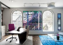 Brilliant-pops-of-color-coupled-with-gray-and-white-in-the-home-office-217x155