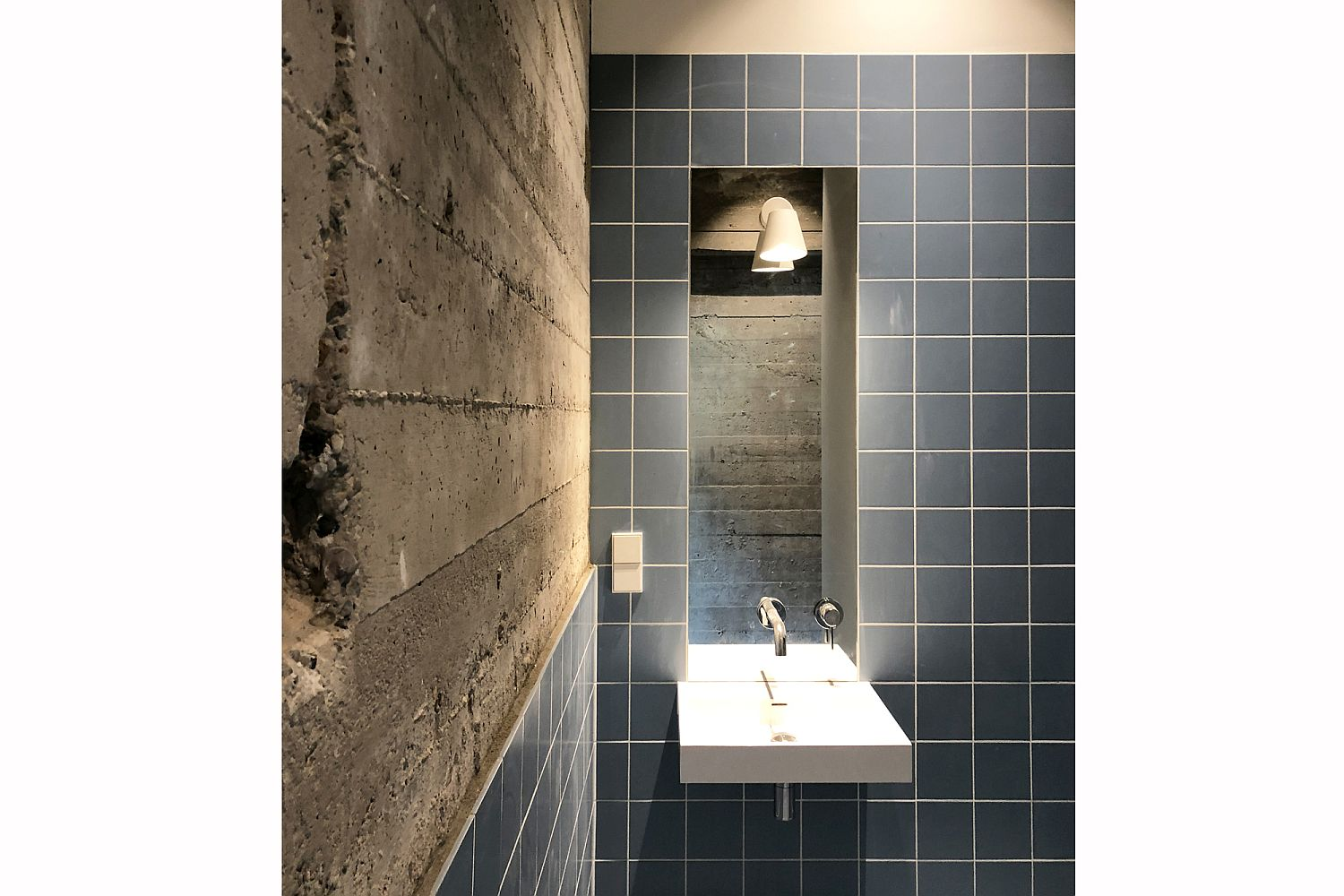 Bringing concrete to the bathroom in style!
