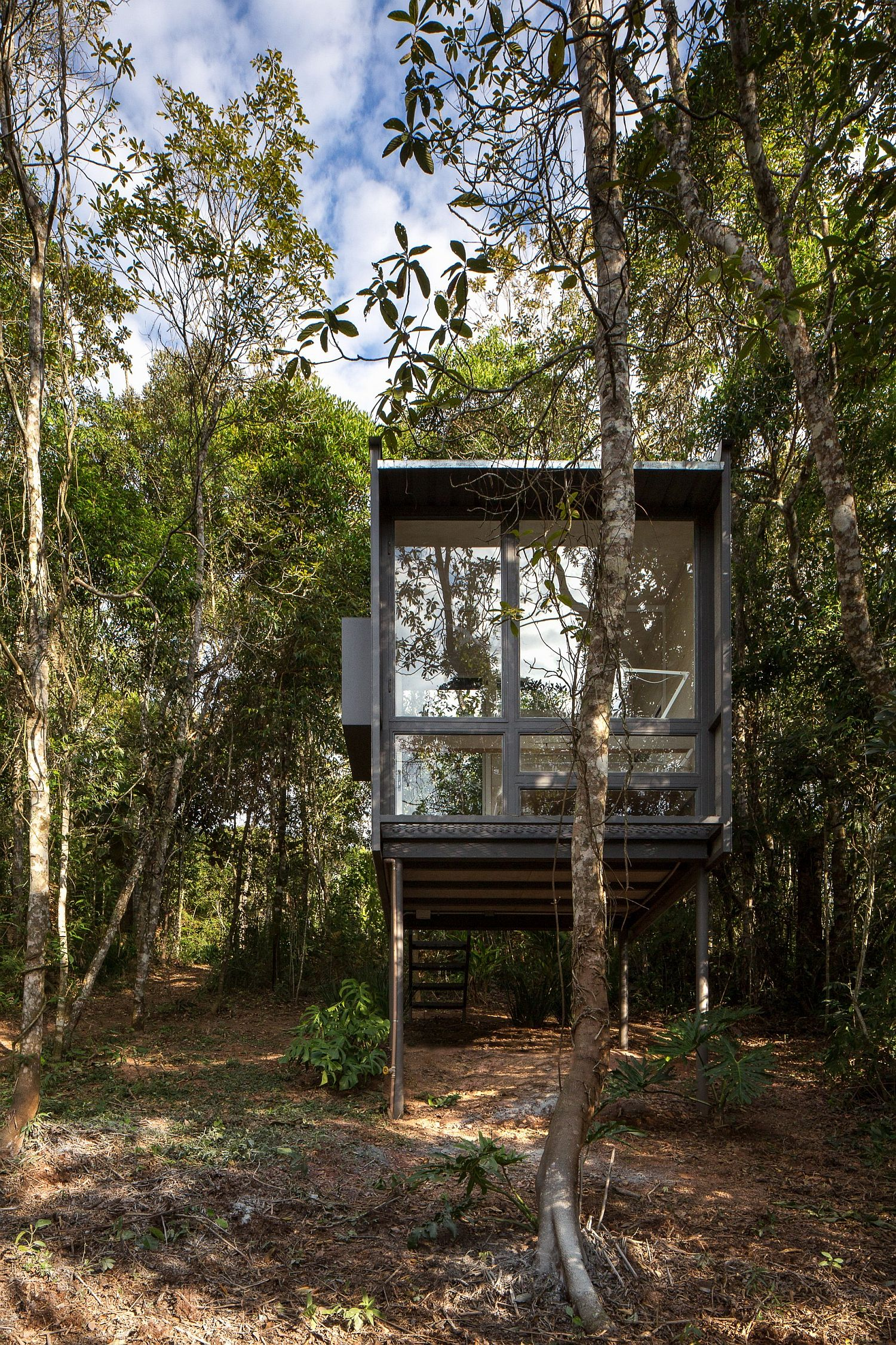 Living With Bare Minimum: 6 Sqm Cabin in the Forest Provides the Perfect Refuge