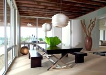 Create-a-contrast-between-the-pendant-and-the-dining-table-visually-217x155