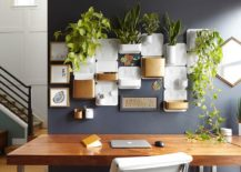 Dashing-home-office-space-in-gray-with-lovely-wall-storage-system-and-set-of-planters-217x155