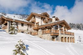 Winter Chalet Luxury: Breathtakingly Gorgeous Shemshak Lodge in Courchevel 1850