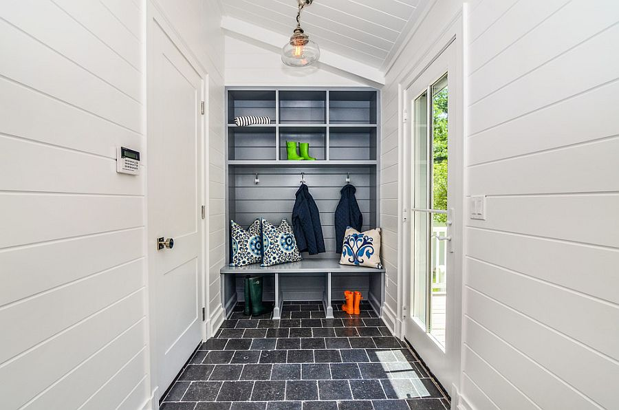Finding the right floor for your mudroom