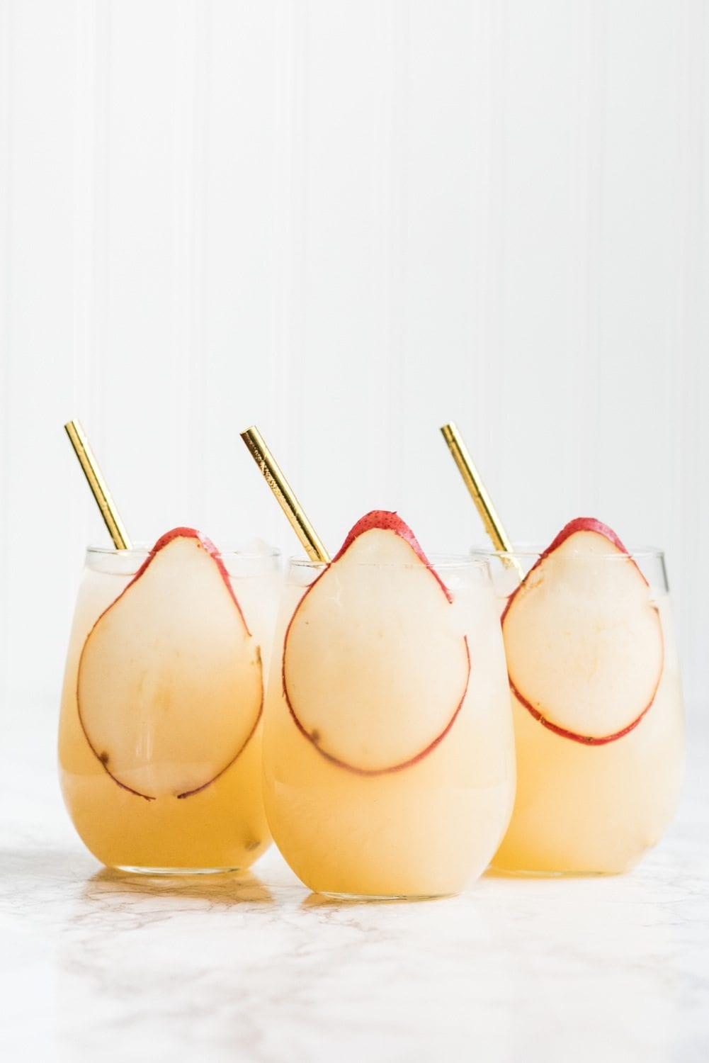 Fizzy pear punch from The Sweetest Occasion