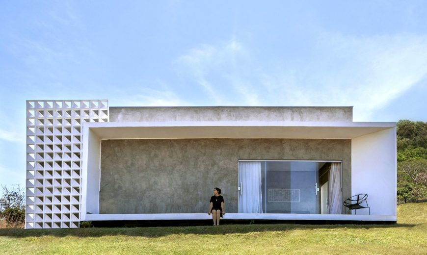 This Urbane Brazilian Home Brings Efficiency and Minimalism to a Serene Setting