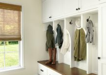 Hooks-closed-cabinets-and-a-bench-are-a-staple-of-the-modern-mudroom-217x155