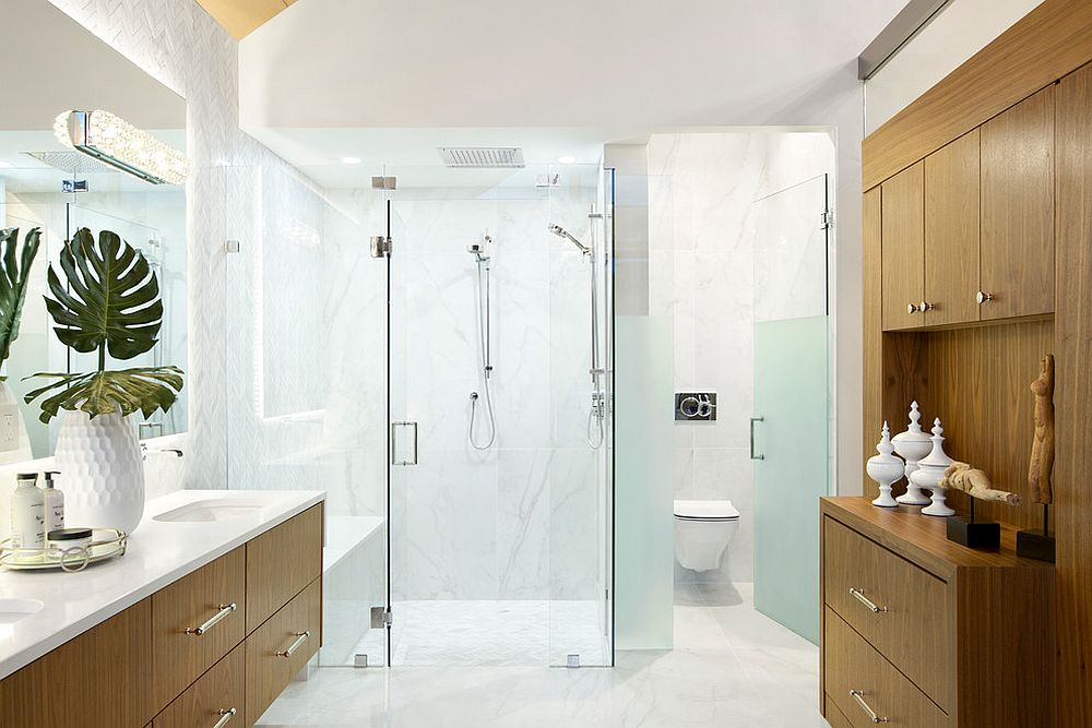 Large-wooden-vanity-and-storage-unit-for-the-spacious-bathroom-in-white