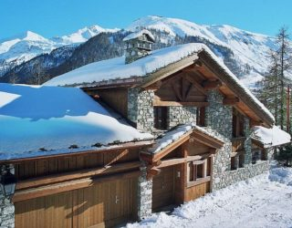 Chalet Montana In French Alps Is The Perfect Snowy Retreat
