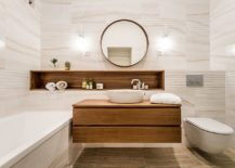 Minimal-and-modern-white-bathroom-with-wood-sections-and-vanity-217x155