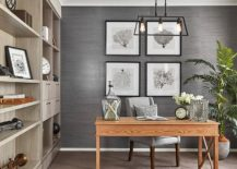 Trendy and Classy: Fabulous Gray Home Office Ideas