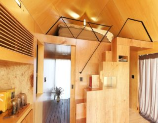 20 Sqm Tiny House with Loft Bedroom is Both Budget and Planet Friendly
