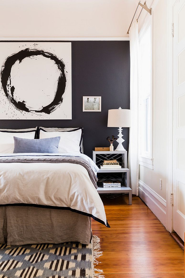 Wall-art-further-elevates-the-appeal-of-this-accent-wall