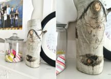 Add-tree-stump-with-initials-to-the-bedside-table-for-a-cool-new-bedroom-look-217x155