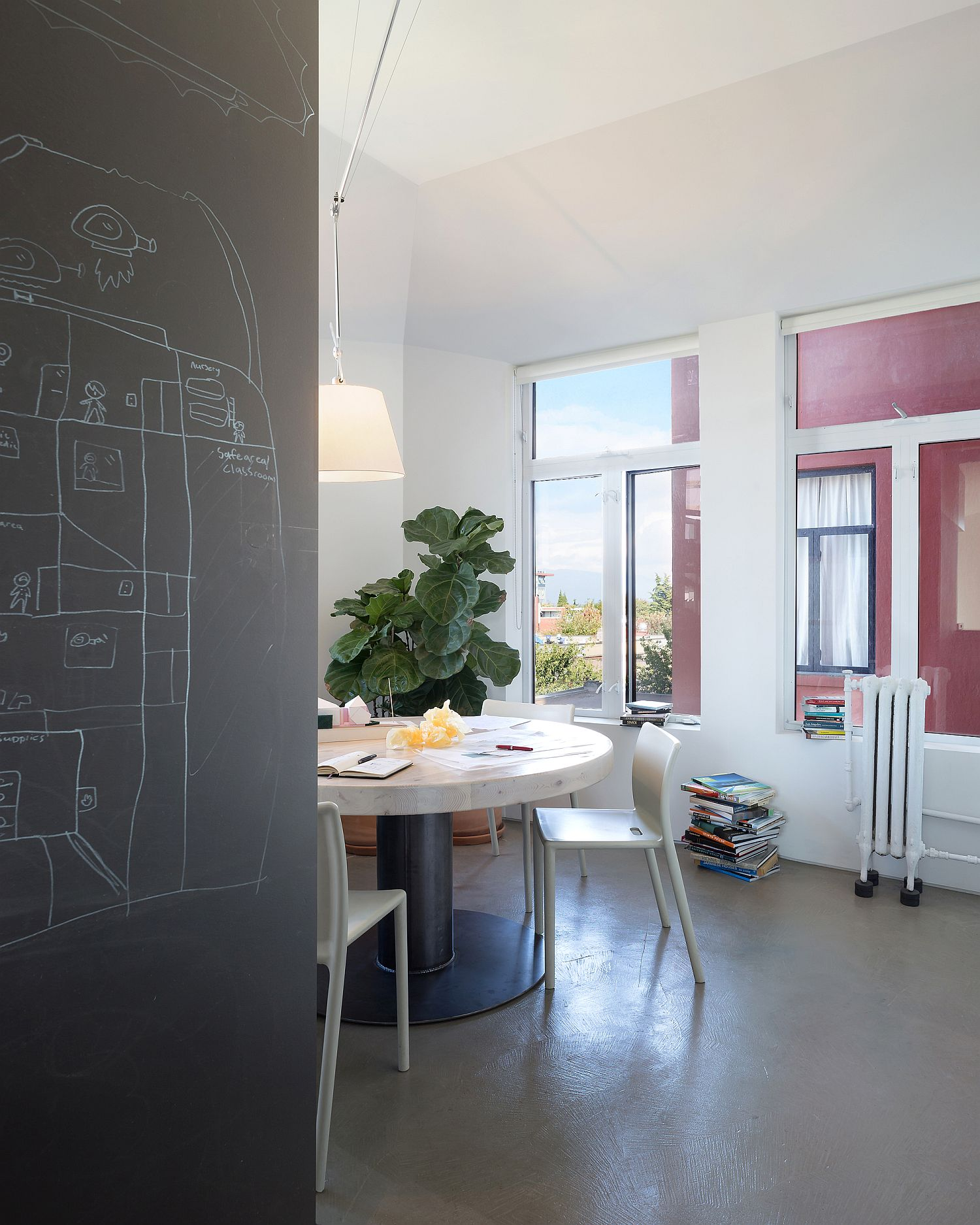 Creative-space-and-chalkboard-wall-inside-Studio-Three