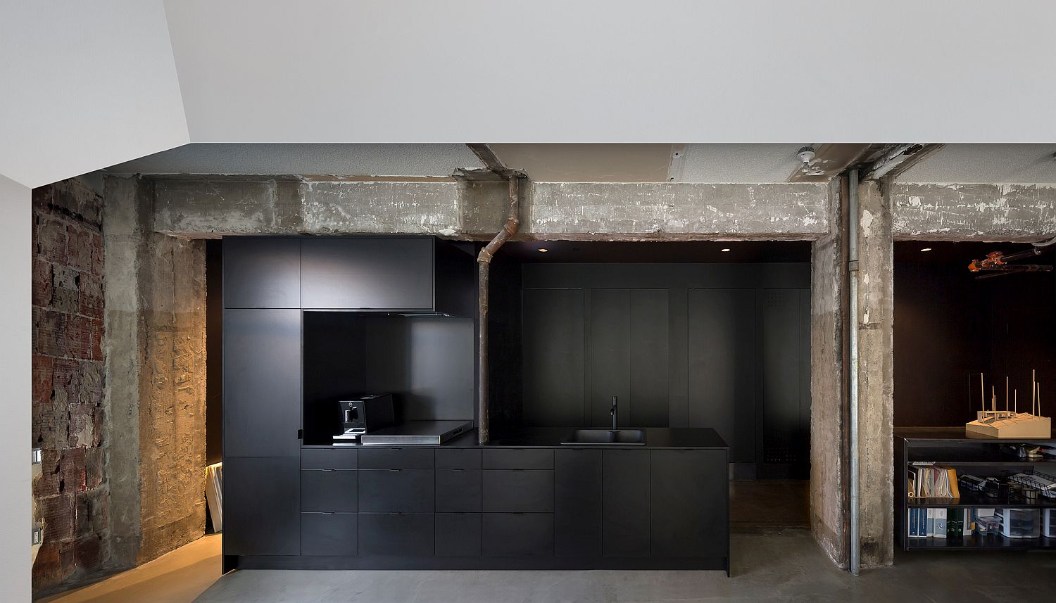 Dark-kitchen-and-other-utility-areas-in-the-office