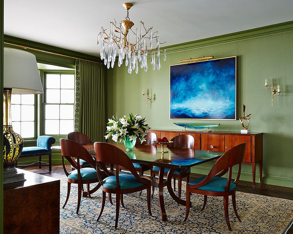 Drapes can be used to delineate space with ease