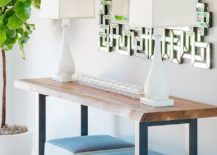 Entry-with-console-table-and-twin-table-lamps-along-with-lush-green-plant-next-to-it-217x155