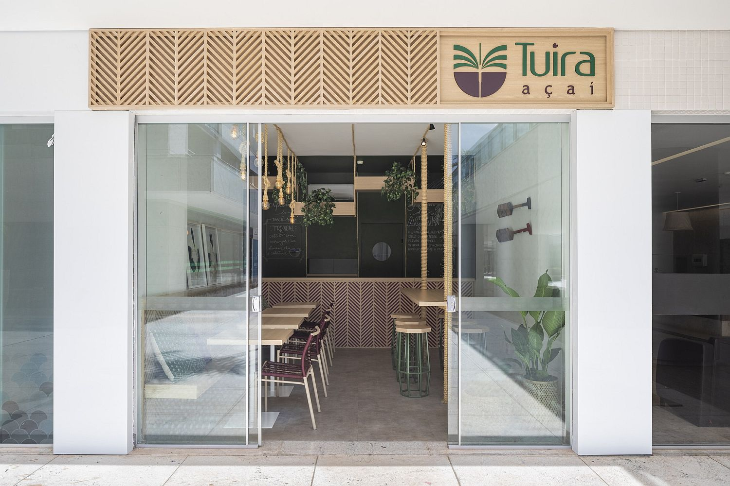 Facade of Tuira Acai with a revamped new look