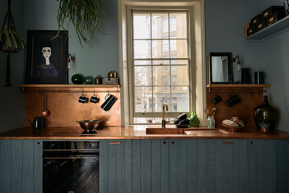 Finding the right copper sheen for your gorgeous kitchen