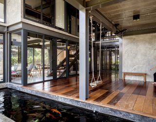 Step Into Chic Bangkok Home Where Family Time and Outdoors Are the Priority