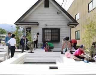 Bringing the Community Together: Pit Terrace Outside Japanese Barber Shop