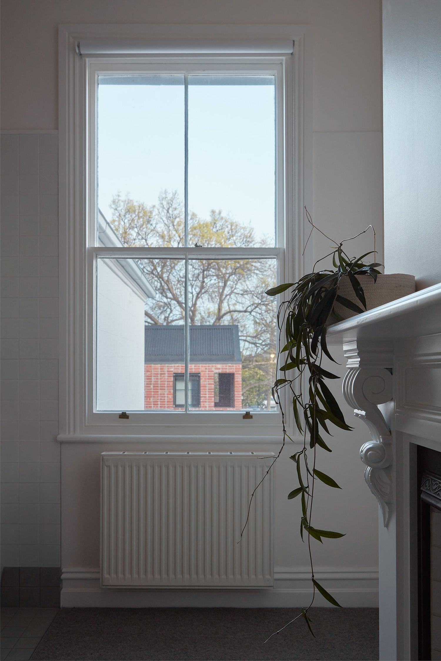 Interior preserves the original features of the heritage home
