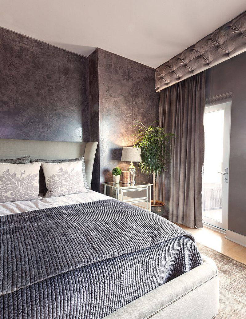 Picking the right shade of gray for your sophisticated bedroom