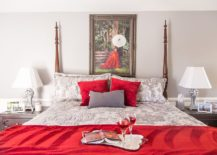 Red-and-white-traditional-bedroom-is-perfect-for-Valentines-Day-217x155
