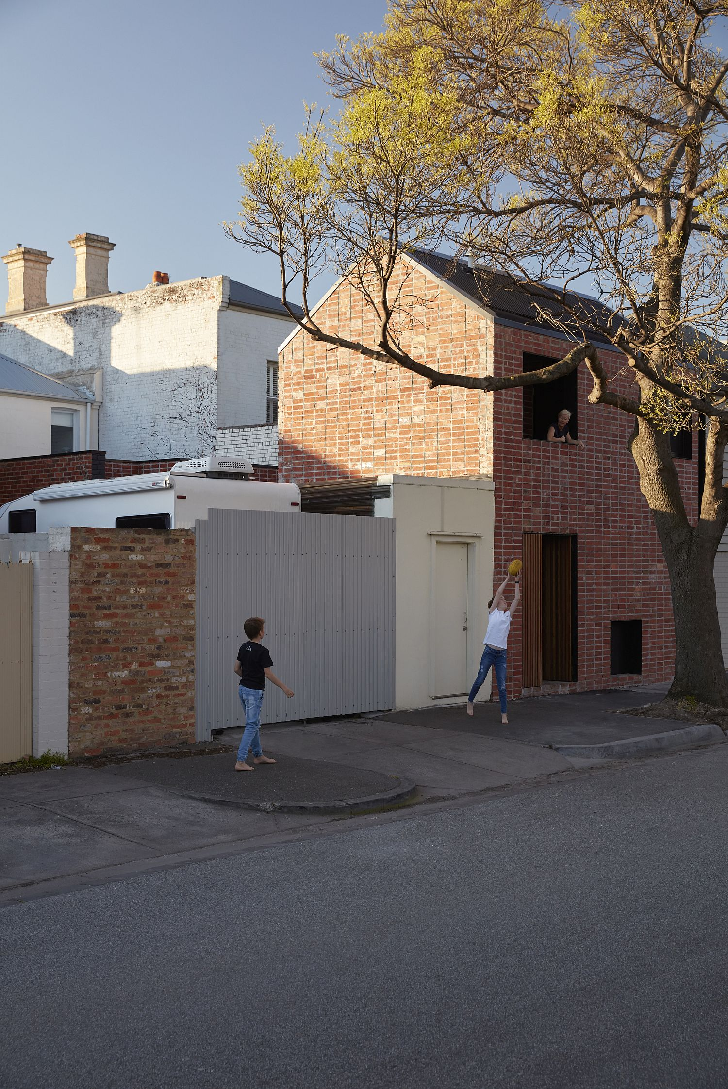 Smart and stylish Brick and Gable House in Melbourne