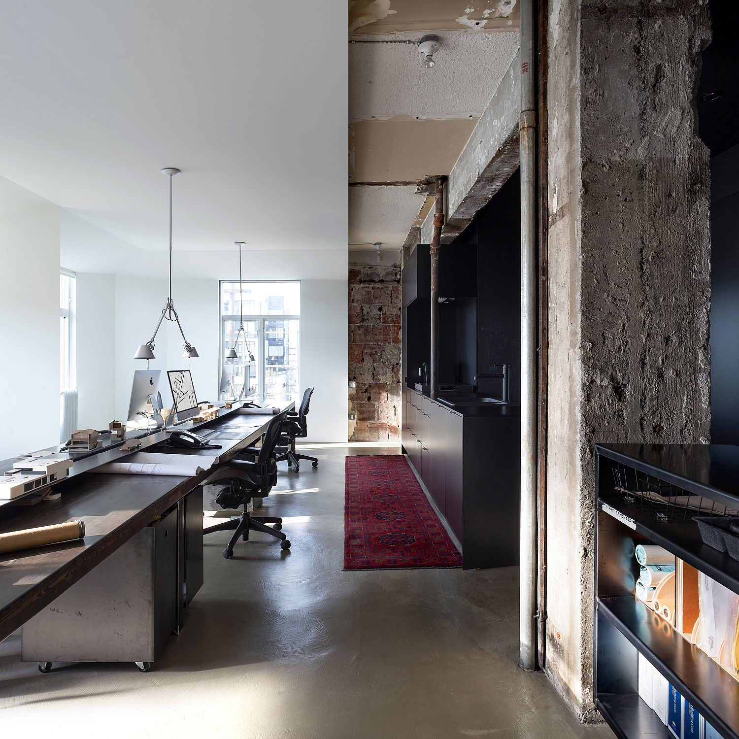 Polished Minimalism Meets Rugged Industrial Past Inside this Vancouver Office