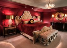 Stunningly-regal-bedroom-in-red-with-a-dash-of-gold-217x155