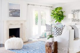 Vibrant, Bright and Filled with Coastal Charm: Summer Cabana that Sizzles!