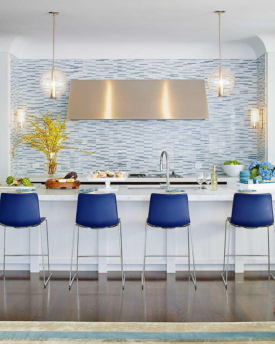 9 Trendy New Bar Stool Ideas for your Dream Kitchen Top Colors ...