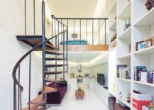 Contemporary-London-apartment-with-a-smart-mezzanine-level-and-spiral-staircase-217x155