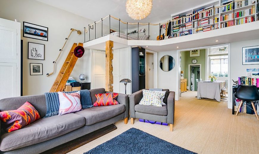 Saving Space with the Right Plan: 20 Mezzanine Apartment Ideas for the Urbanite