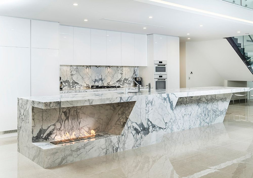 Extraordinarily-impressive-island-in-marble-steals-the-spotlight