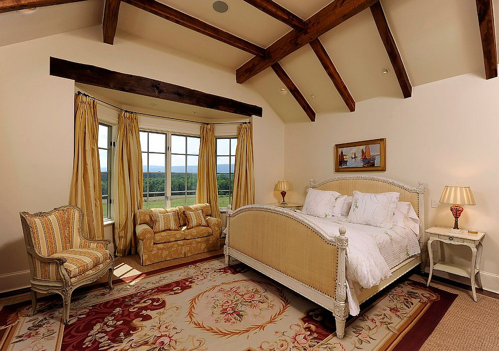 Go beyond boring monotonous patterns for the carpet in bedroom