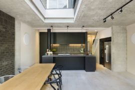 Modern Rear Extension of Victorian Terraced House with a Smart Studio Above