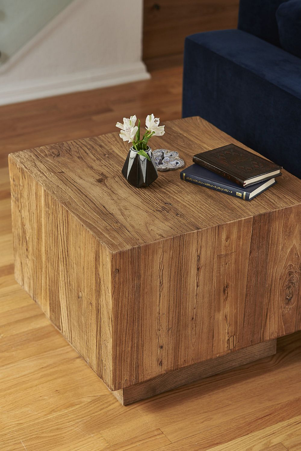 Minimal wooden coffee table for the living room