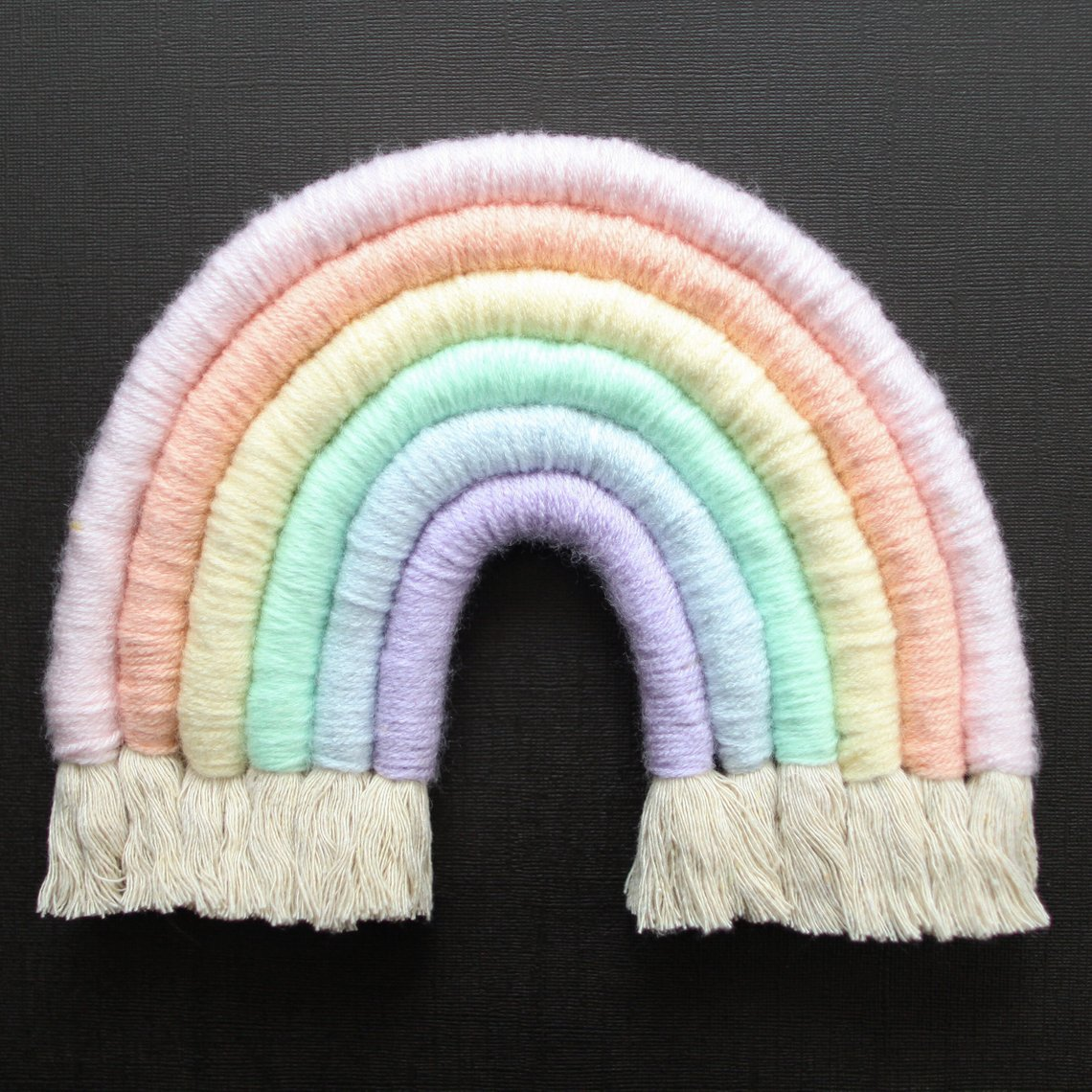 Pasetl fiber rainbow from Mandi Smethells