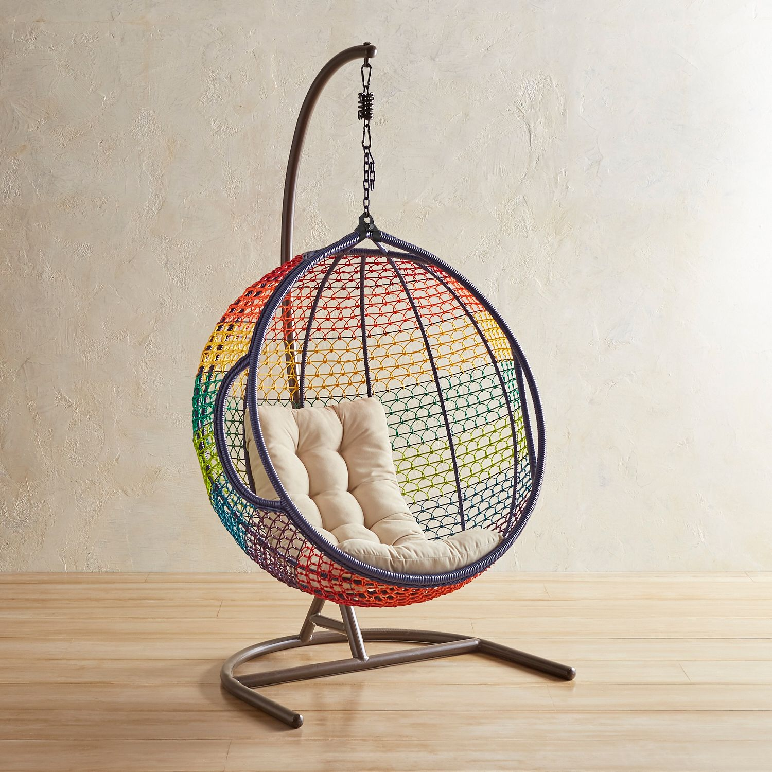 Rainbow hanging chair from Pier 1